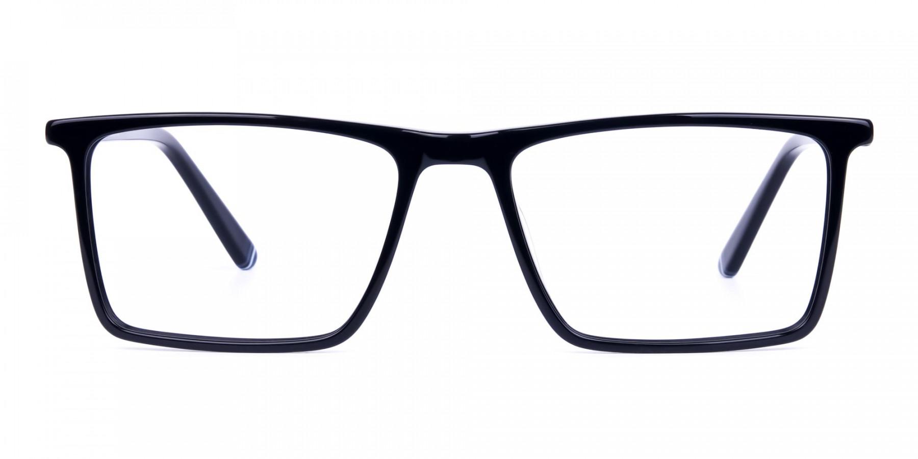 Fashionable-Black-Full-Rim-Rectangular-Glasses-1