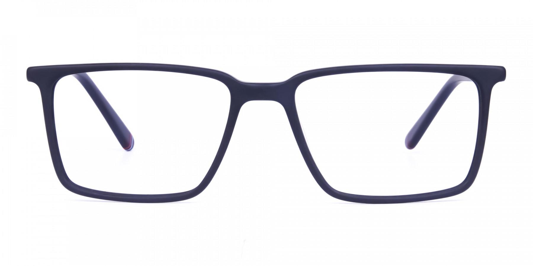 Matte-Black-Fully-Rimmed-Rectangular-Glasses-1