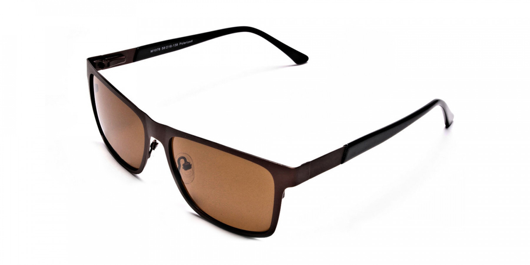 Brown Wayfarer Sunglasses for Men and Women - 2