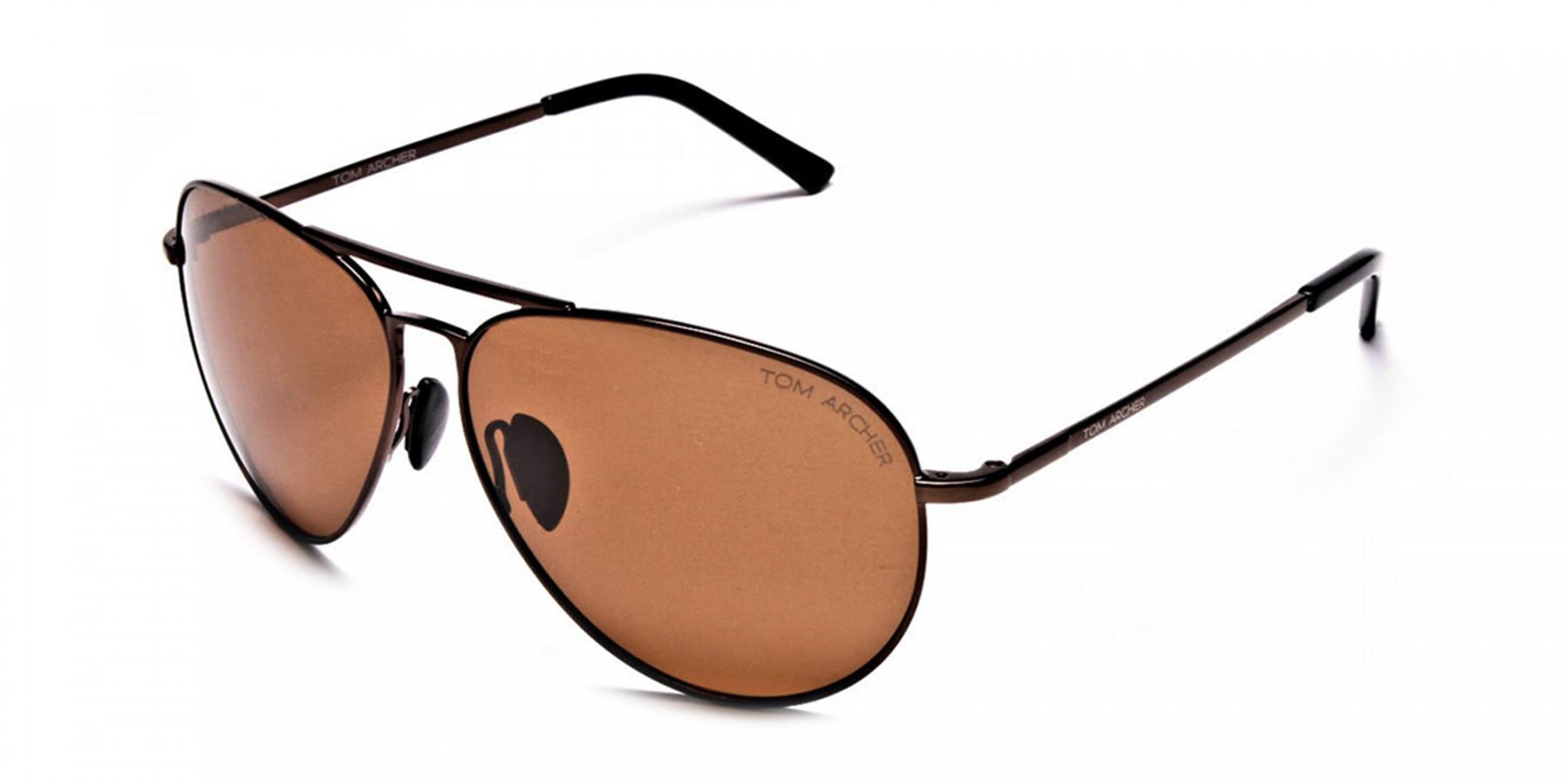 Smart Trendy Brown Sunglasses  - 2