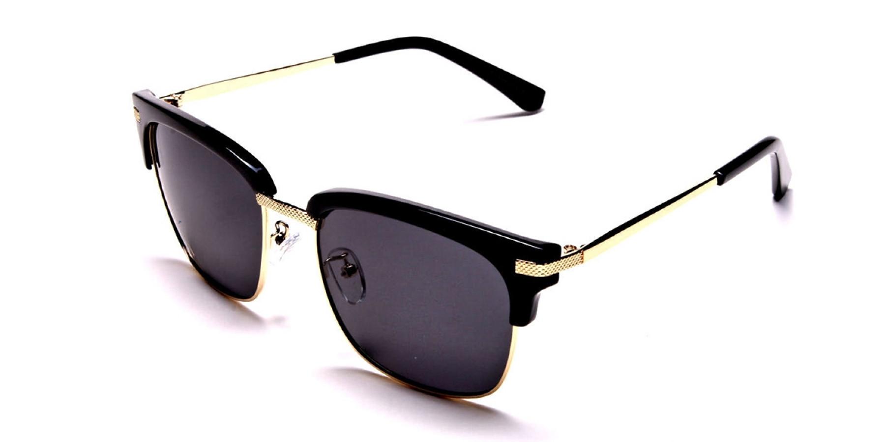 Browline Black & Gold -2