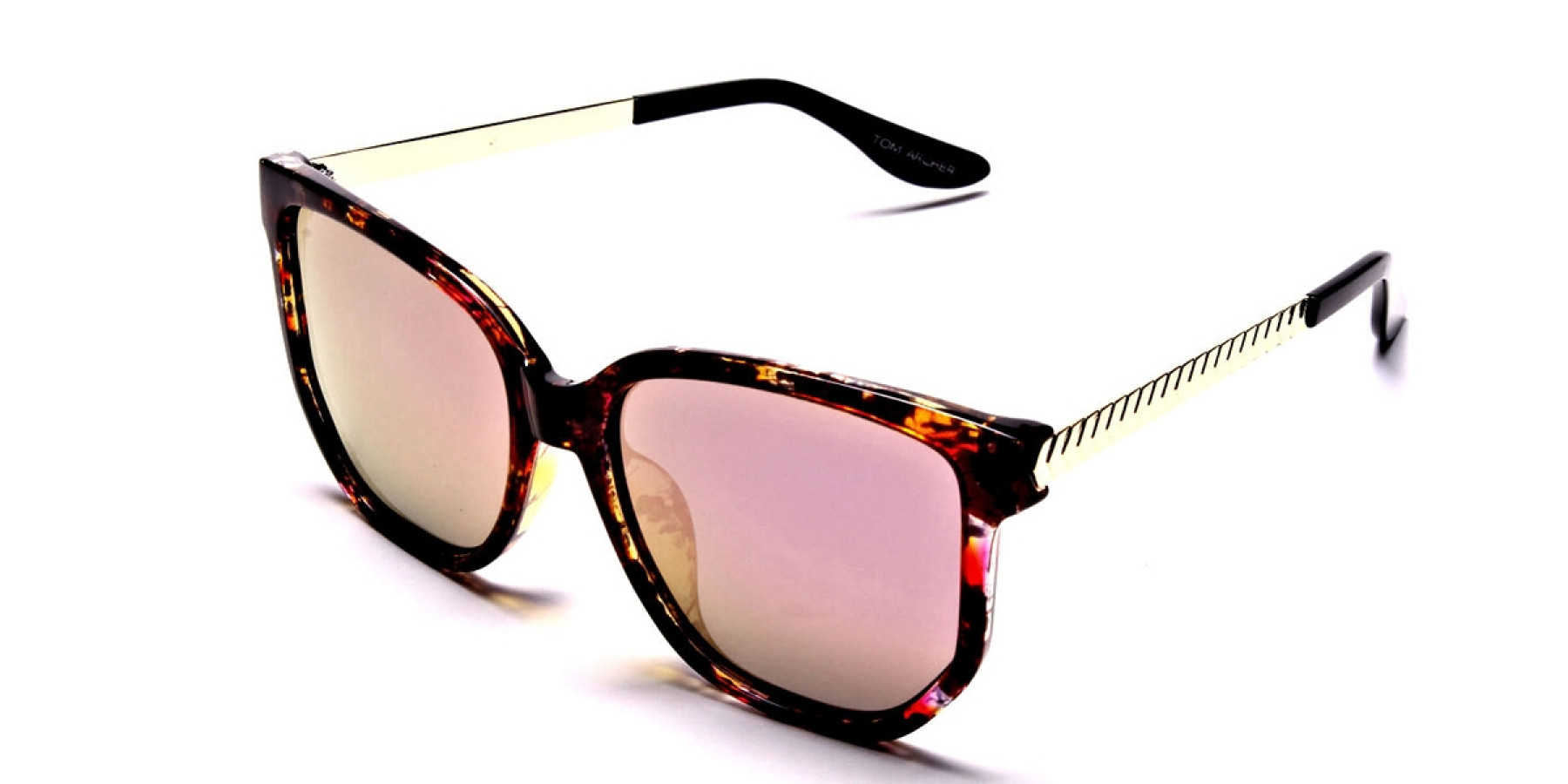 Classy Tortoiseshell Sunglasses -2