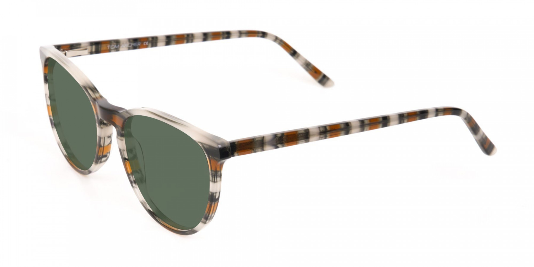 Dark Green Sunglasses - 3