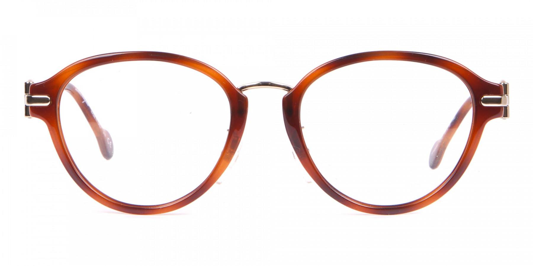Salvatore Ferragamo SF2826 Women Round Glasses in Tortoise-1