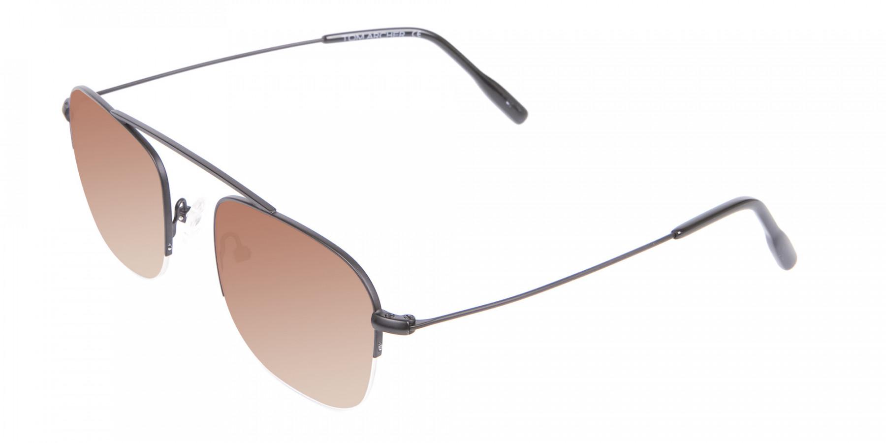 Black Square Sunglasses - 3