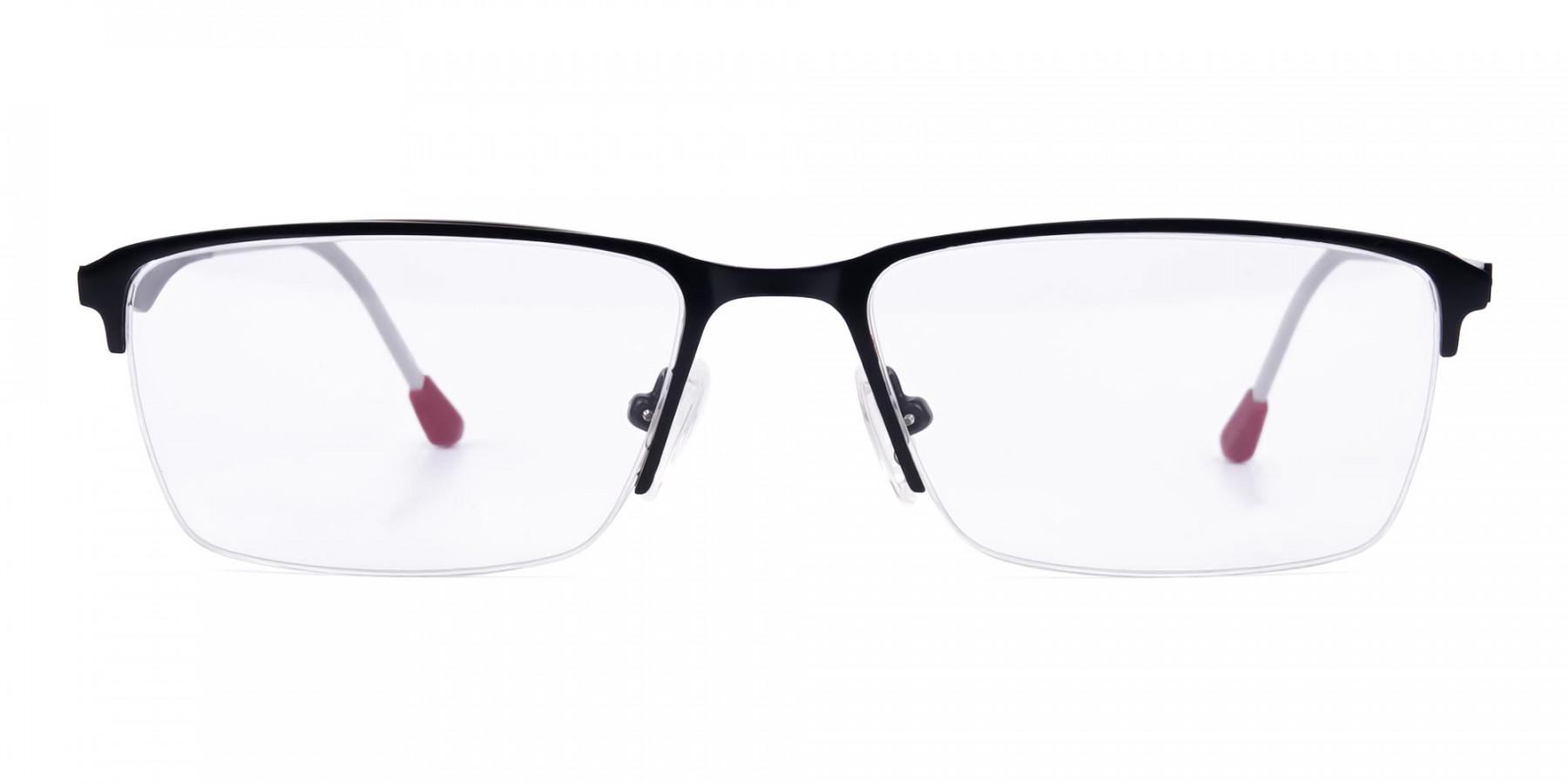 black titanium glasses-1