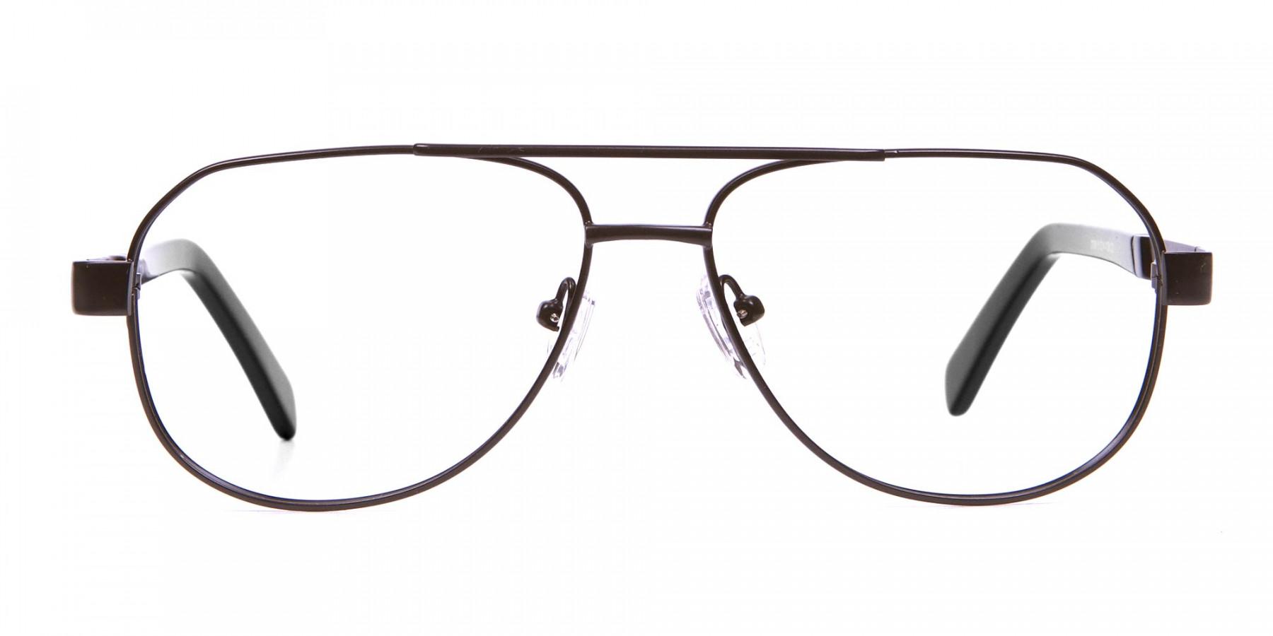 Black Aviator Glasses, Eyeglasses