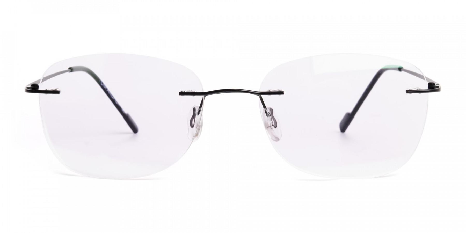 black-wayfarer-rimless-wayfarer glasses-frames-1