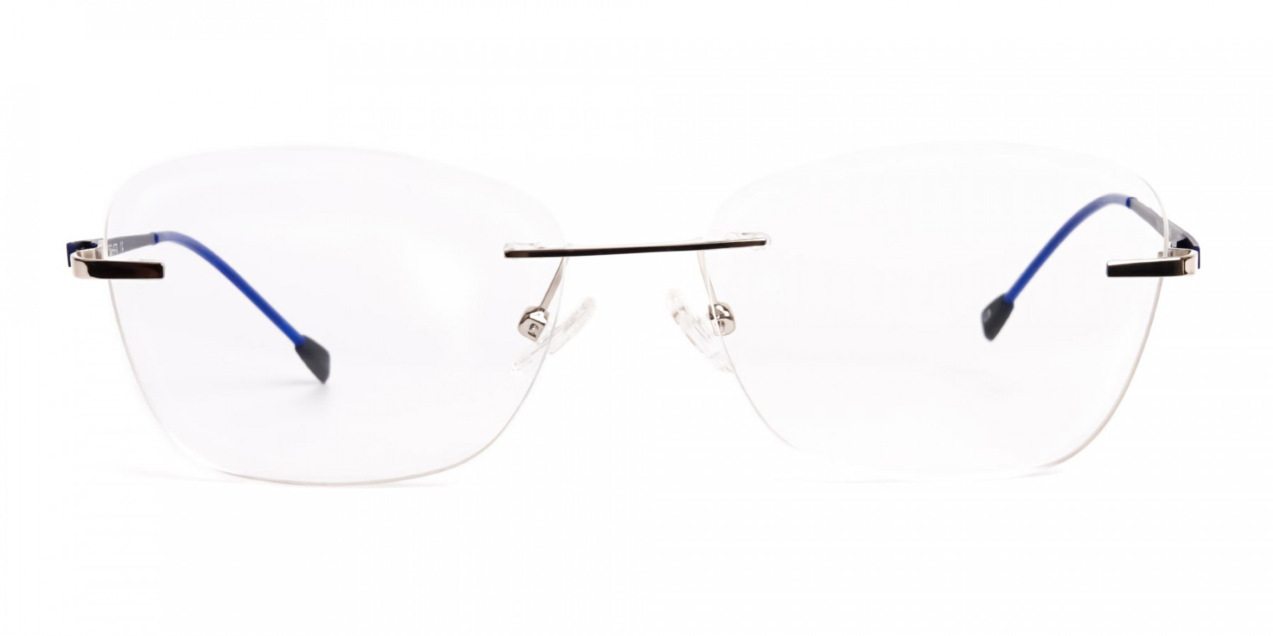 silver-and-blue-cateye-rimless-glasses-frames-1
