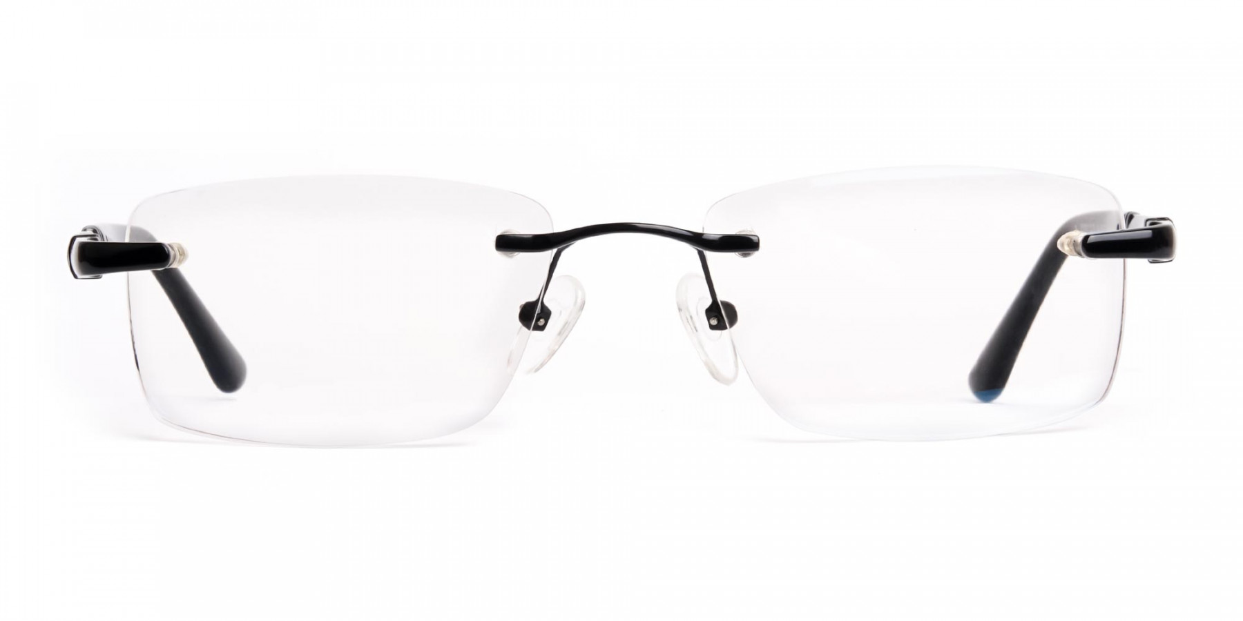black-rectangular-rimless-titan-glasses-frames-1