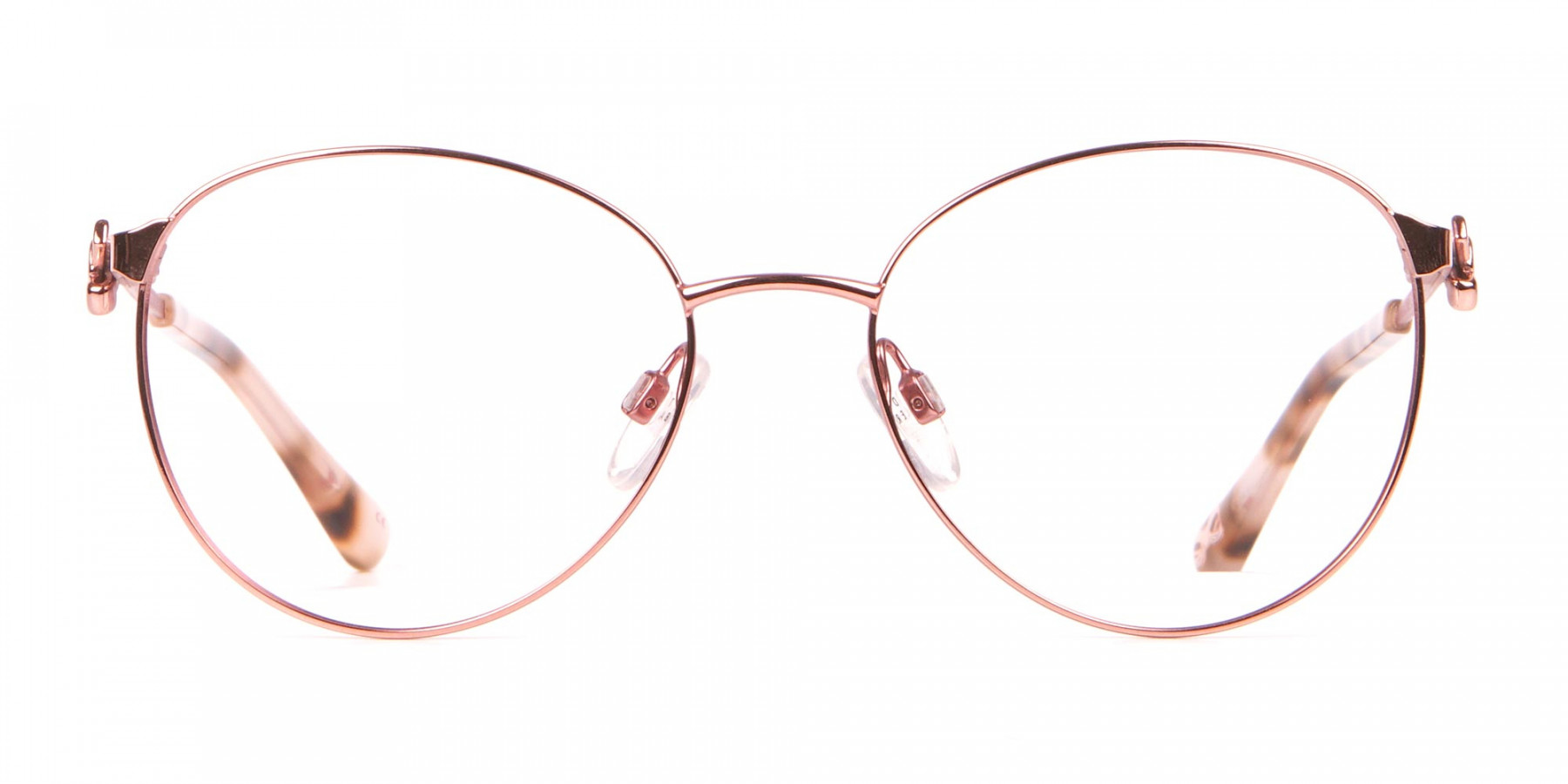 Ted Baker TB2243 Rosegold Round Metal Glasses Women -1