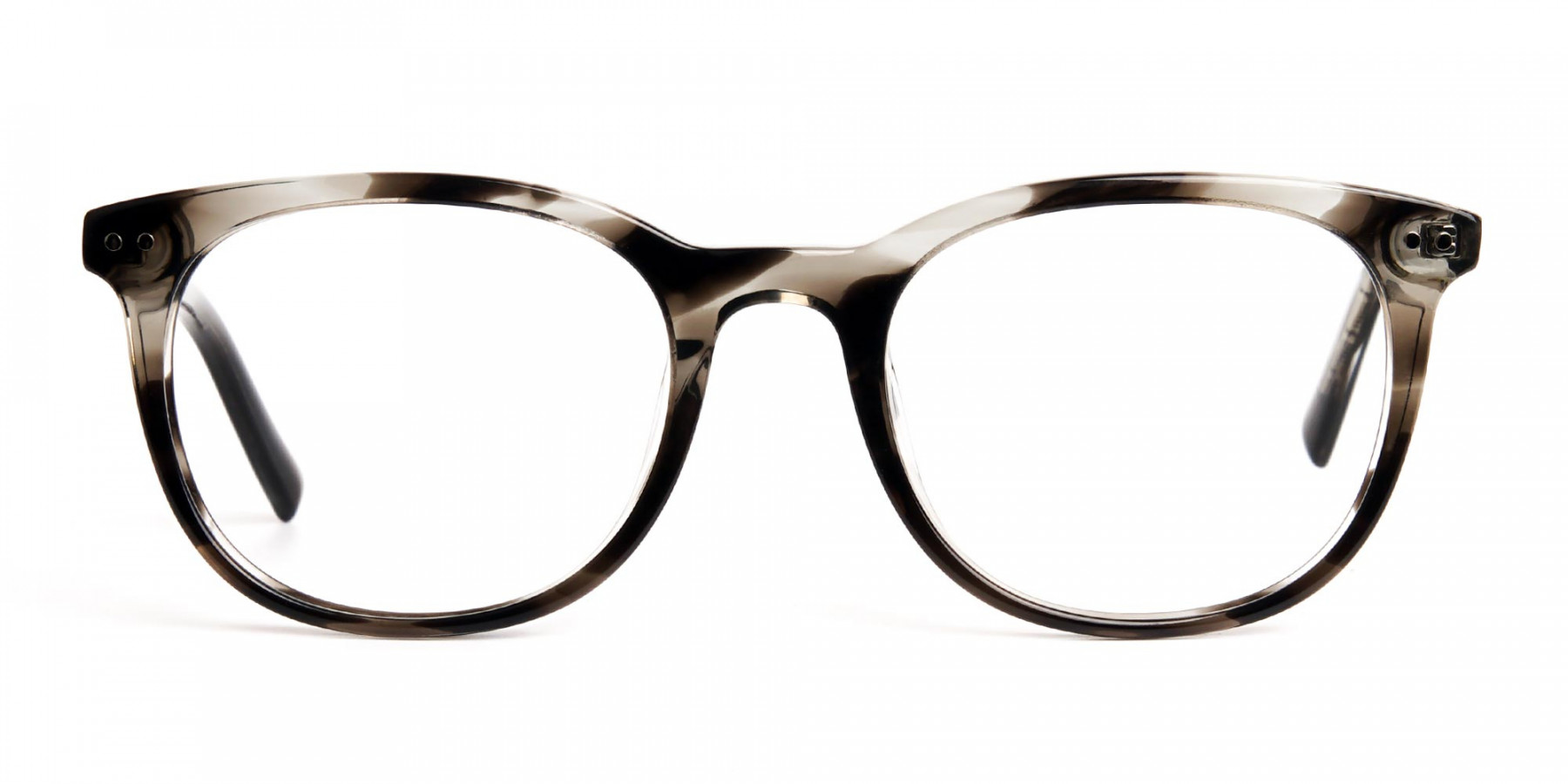 grey-tortoise-shell-wayfarer-round-full rim-glasses-frames -1