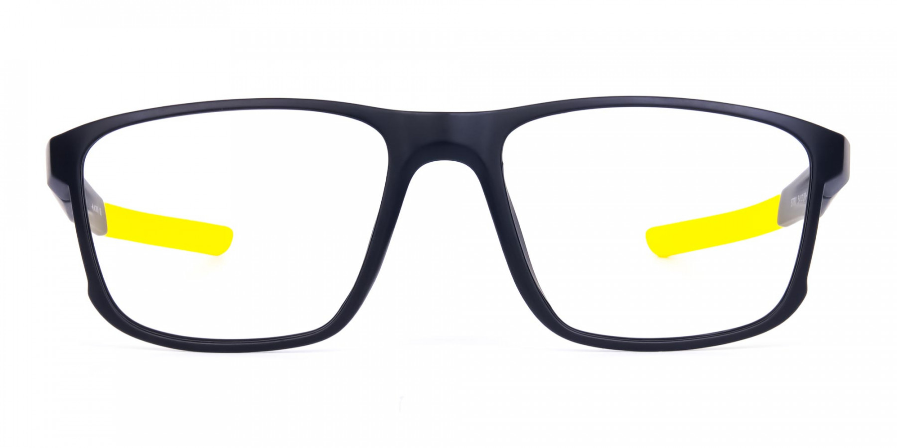 Black and Yellow Frame Cycling Goggles-1