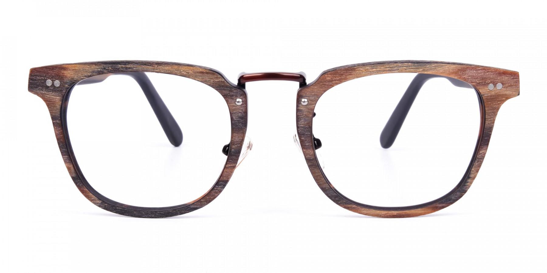 Tortoise-Square-Full-Rim-Wooden-Glasses-1