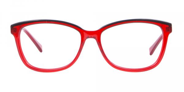 Funky Red Unisex Glasses Online UK