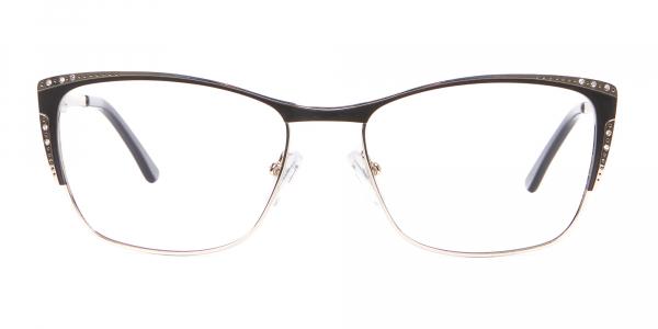 Lady Glasses Rectangular and Cateye