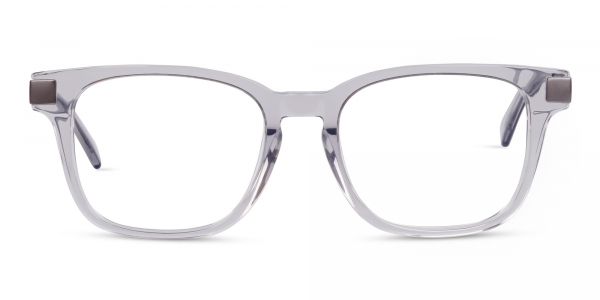 Crystal and Grey Wayfarer Glasses