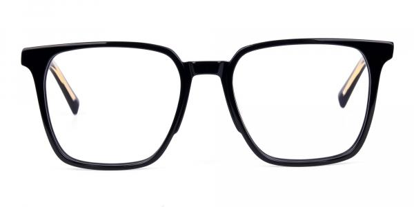 Square Black Eyeglasses