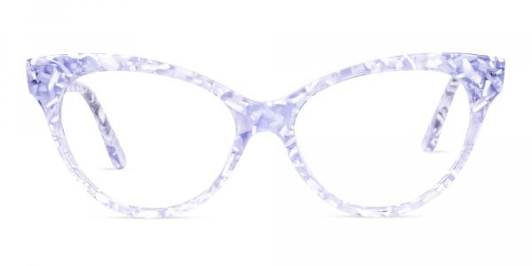 Marble Cat Eye Glasses Frames