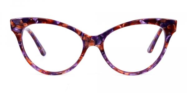 Brown Tortoise Cat Eye Glasses Frames