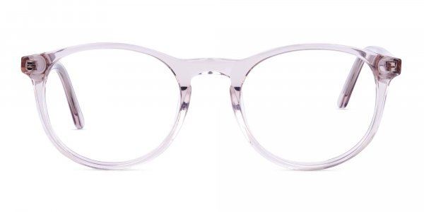 Nude Round Glasses Frame