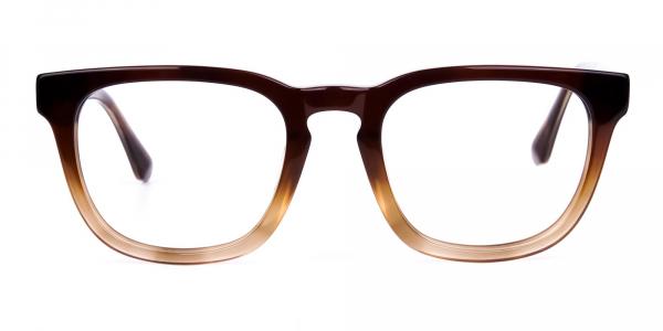 Tortoise Brown Wayfarer Glasses Frame