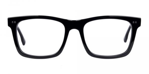 Black Square Glasses Frame