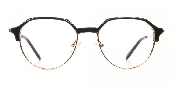 Fresh Look Octagon Glasses