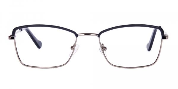 metal frame blue light glasses