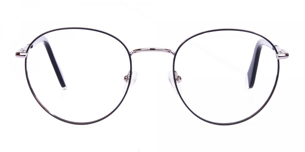 black teashade glasses