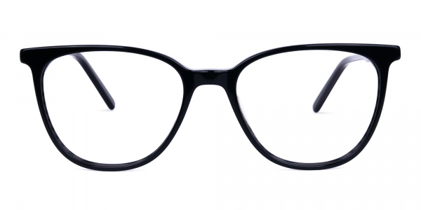teal cat eye glasses