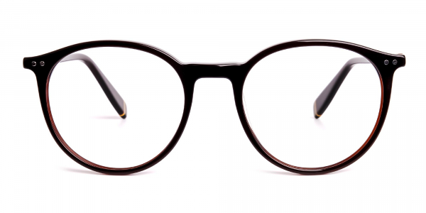 dark-brown-round-full rim-glasses-frames-1