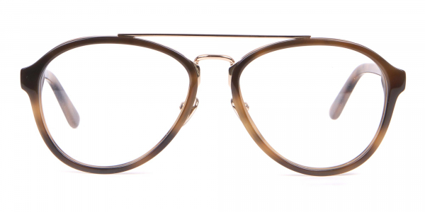 Clavin Klein CK18511 Aviator Pilot Glasses in Tortoise