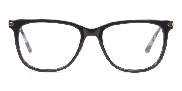 Calvin Klein CK19704 Wayfarer Glasses In Glossy Black