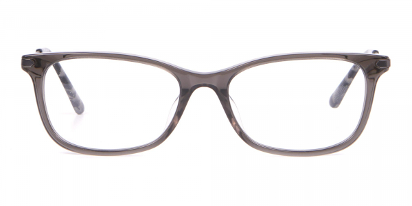 Calvin Klein CK18722 Crystal Black Cat Eye Rectangular Frame