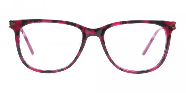 Calvin Klein CK19704 Wayfarer Glasses In Berry Tortoise