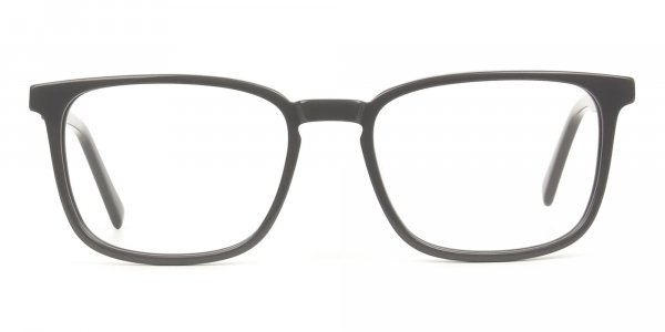 Lightweight Grey Sport style Rectangular glasses - 1