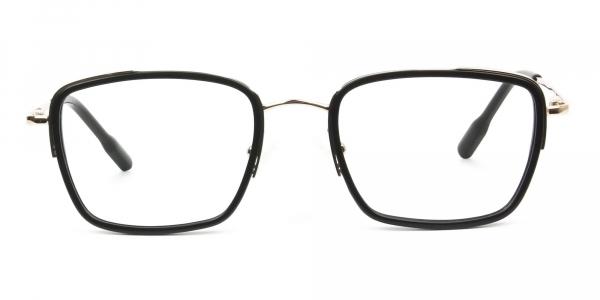 Spider Man Glasses in Black & Gold