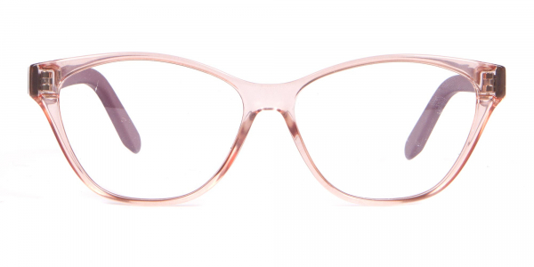 Salvatore Ferragamo SF2836 Women's Cat Eye Glasses Nude