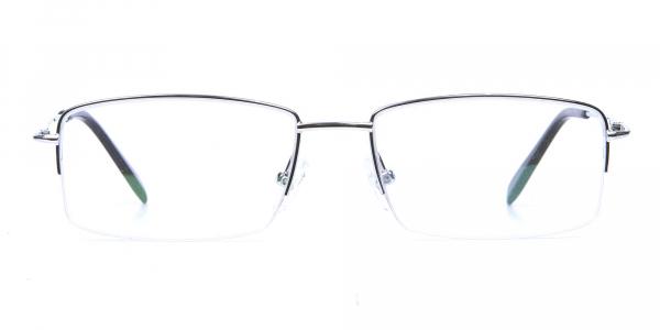 Silver Eyeglasses that Rock