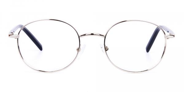 titanium round glasses