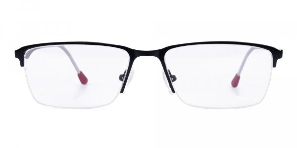black titanium glasses