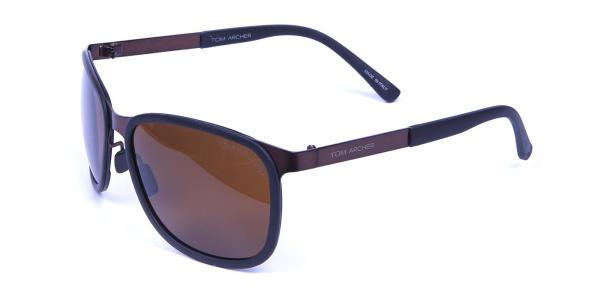 Luxury All Brown Sunglasses