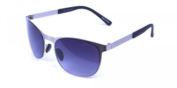 Silver Framed Sunglasses