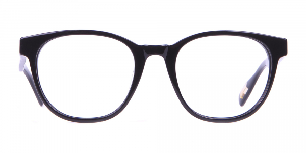 TED BAKER TB8197 Cade Glasses Classic Round Black Chunky
