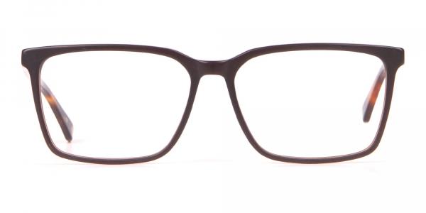 TED BAKER TB8209 ROWE Rectangular Glasses Matte Black