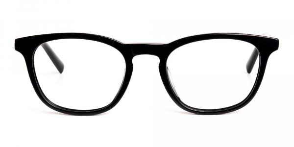 black wayfarer full rim glasses frames