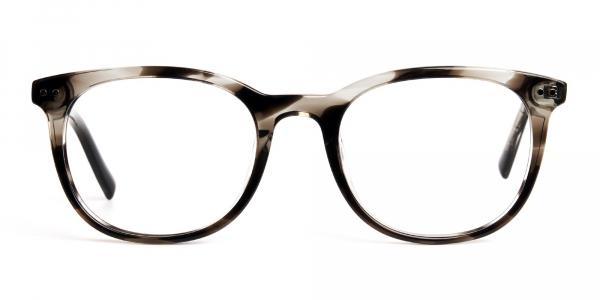 grey tortoise shell wayfarer round full rim glasses frames