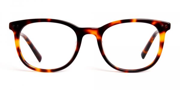 tortoise shell wayfarer round full rim glasses frames