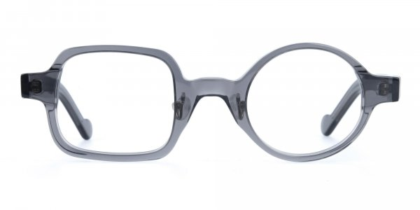 Asymmetric Round and Square Eyeglasses-1